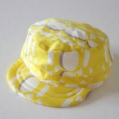 キャップ(帽子)の縫い方 - ピボットパターンの無料型紙 & 作り方解説