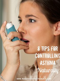 8 tips for controlling asthma naturally, including diet tips, herbal remedies, and more. Reduce your dependence on an inhaler and breathe more easily! Asthma Relief, Asthma Symptoms, Natural Asthma Remedies, Ayurvedic Remedies, Phlem Remedies, Alternative Health, Natural Treatments, Diet Tips, Health