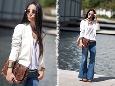 BOOTCUT JEANS / RayBan Worldwide GIVEAWAY ☼☼☼ (by WOWS Withorwithoutshoes.com) http://lookbook.nu/look/3708613-BOOTCUT-JEANS-RayBan-Worldwide-GIVEAWAY