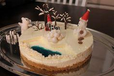 Christmas cake <3 (oma) cheesecake