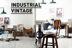#style #Vintage  #industrial