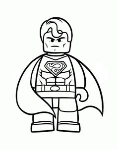 Lego Ninja Coloring Pages #4