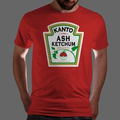 This has to be one of the coolest shirts I've seen. Two of my favorite things, Ketchup and Pokemon!