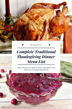 to make the best Traditional Thanksgiving Menu Dinner Traditional Thanksgiving Dinner menu list of traditional Thanksgiving Dinner recipes. Traditional Thanksgiving Dinner menu list of traditional Thanksgiving Dinner recipes. Traditional Christmas Menu, Traditional Thanksgiving Dinner Menu, Thanksgiving Dinner List, Thanksgiving Traditions, Thanksgiving Sides, Thanksgiving Desserts, Christmas Desserts, Everyday Food, The Ranch