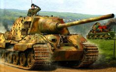 """Jagdtiger (""""Hunting Tiger"""") is the common name of a German heavy tank destroyer of World War II. The official German designation was Panzerjäger Tiger Ausf. B as it was based on a lengthened Tiger II chassis. The ordnance inventory designation was Sd. Kfz. 186. The 71-tonne Jagdtiger was the heaviest armored fighting vehicle used operationally during World War II and is the heaviest armored vehicle of any type to achieve series production."""