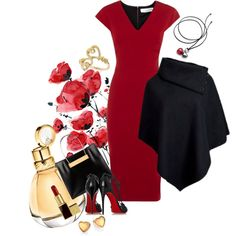Pretty Betty on Valentine's Day by anna-jarovaja-v on Polyvore featuring Victoria Beckham, Christian Louboutin, Balenciaga, Baccarat, Miss Selfridge, Kate Spade, Tom Ford and Chopard