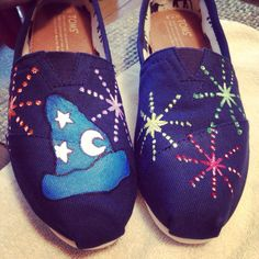 Disney toms I painted for @Sara Jolly