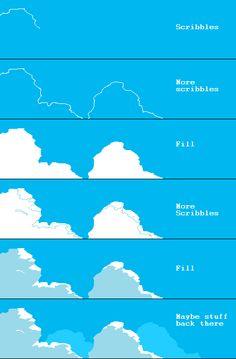 pixel art sky tutorial - Pesquisa Google