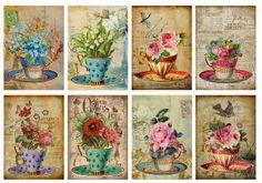 Ahşap boyama için güzel desenler