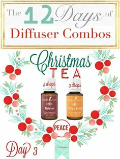Day 3 of 12 Days of Diffuser Combos