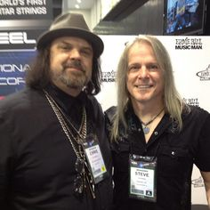 Best Guitar Player Steve Morse of band Deep Purple at NAMM Music Show 2013