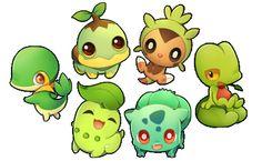 starter pokemon sticker sets - Thumbnail 2