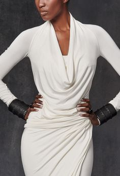 Long-Sleeve Cowl-Neck Top                                                                                                                                                      More