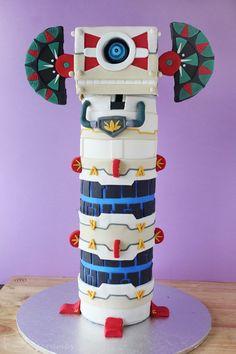 [Baking Adventures] - The Legend of Zelda: Skyward Sword -- Beamos Cake