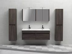 image result for noce wall hung italian vanity double basins