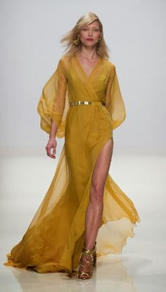 Yellow Valentin Yudaskin SS Collection for 2014