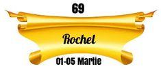 Heraldry of Life: 69.ROCHEL / RAHAEL - DEUS OMNIA VIDEN