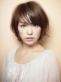 Japanese women's hair style - think this would look awesome on my Josie!
