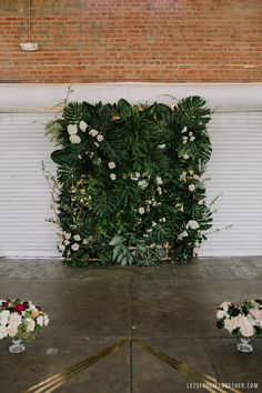 Let's Frolic Together Photo Flower Wall Backdrop, Wall Backdrops, Flower Wall Wedding, Floral Wedding, Jungle Flowers, Wedding Wall Decorations, Floral Wall, Tropical Flowers, Peonies Garden