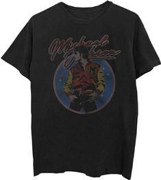 6a62936ad This Michael Jackson t-shirt features an image of the King of Pop, from