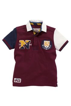 Buy Plum Polo (3-16yrs) from the Next UK online shop