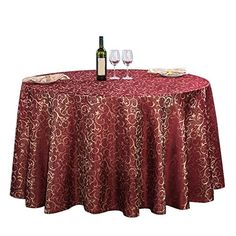 20 Round Decorative Table Cloth Decoration For Home