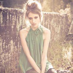 beautifully re-purposed blouse :)