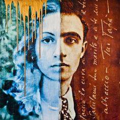 Father & Daughter -  Mixed Media - www.Galleani-Art.com