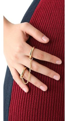 Jules Smith Chained to You Ring $75