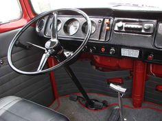 Volkswagen Interior, Bus Interior, Vw Bus T1, Vw Camper, Combi T1, Vw Cars, Race Cars, Vw Beetles, Motorhome