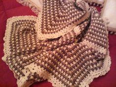 Plaid fatto con lana #adriafil
