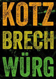 Kotz Brech Würg | Edgar  | Echte Postkarten online versenden | MyPostcard.com