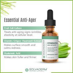 Essential Ingredients Your Anti-aging #serum Must have