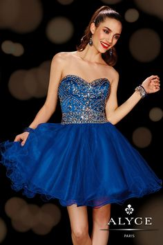 Homecoming DressesSweet 16 Dresses by Alyce Paris3612Dare to Dazzle!