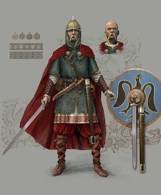 Reconstructions of Prince Svyatoslav – Kievan Rus | Slavorum