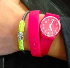Loving the Swatch Pink Berry. Also love Pinkberry ;) Happy Summer!