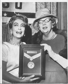 Joan Crawford, Woman of the Year 1965, USO.