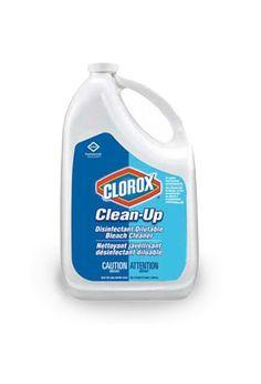 Nettoyant désinfectant concentré javellisant Clean-Up