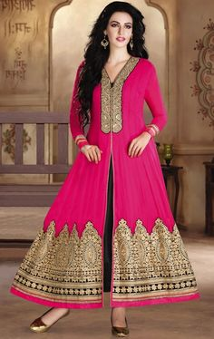 Picture of Lush Pink Color Designer Gown