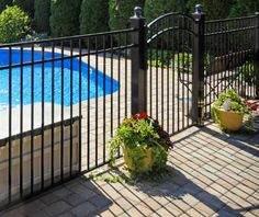 Aluminum pool fences are affordable and good looking. A black metal pool fence, for example, will blend in nicely with any backyard and add some appeal to the landscape. The last, and most important benefit to an aluminum pool fence installation in Bergen County, NJ is its security & safety value. For more information about pool fence installation in Bergen County, NJ call us at (973) 772-2593.