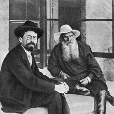 Chejov y Tolstoi.