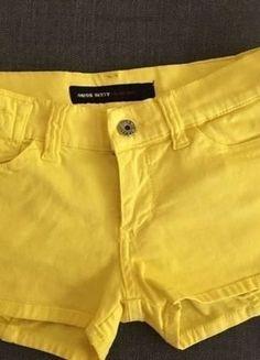 09a1aec7b915 Shorts Hot Pants Miss Sixty, neongelb, Größe 25, wie neu. Yve ·  Kleiderkreisel
