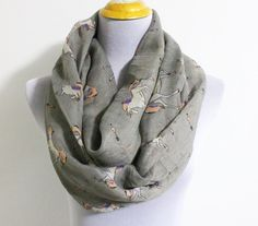 Unicorn Before Christmas Infinity Scarf Horse by dailyaccessoriez, $14.99