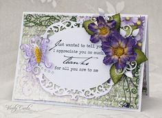 Thanks by Veritycards - Cards and Paper Crafts at Splitcoaststampers