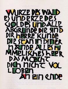 by Rudolf Koch - 1920