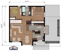 Designer, Zen / Contemporain | LAP0516 | Maison Laprise - Maisons pré-usinées