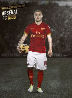 Jack Wilshere / Lagvilava7: Arsenal 1886 kit ...