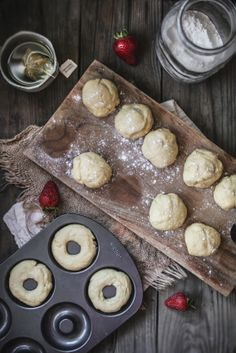 Adventures in Cooking: Baked Buttermilk Doughnuts with a Strawberry Rhubarb Brown Butter Glaze & The Saveur Best Food Blog Awards