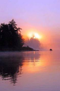 Sunrise on Lake One in the Boundary Waters Wilderness | Ed Craft