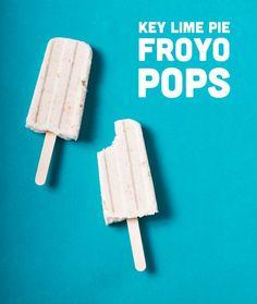 Key Lime Pie Froyo Pops // Wit & Vinegar